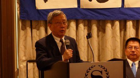 北京之春荣誉主编、政论家胡平在纪念六四29周年纽约纪念大会上表示,勿忘六四,向中共强权说不。