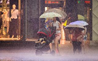 豪雨周三袭台 专家:雨量不亚于台风