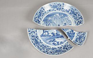日本古盤在台碎裂 故宮修復多2條美麗金線
