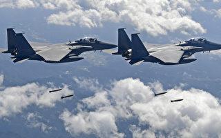 中共軍機在東海遭日韓戰鬥機攔截