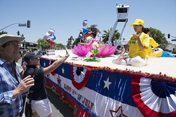 聖地亞哥獨立日遊行 展現美國精神