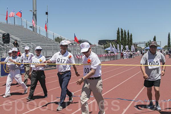 旧金山湾区第34届华运会盛大开幕 千余人参加