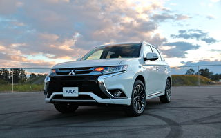 车评:可充电的SUV 2018 Mitsubishi Outlander PHEV