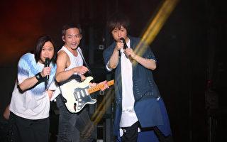 五月天上海开唱 萧敬腾不招雨助唱《疼爱》