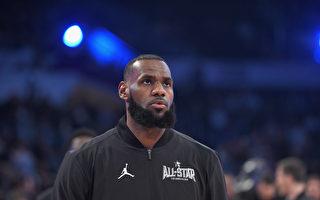NBA巨星詹姆斯離開騎士 加盟洛杉磯湖人