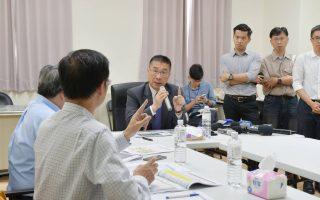 訪視林口選手村社會住宅 徐國勇:安居可以拼經濟