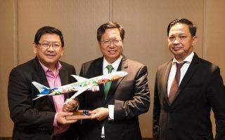 新南向机场城市合作 菲律宾天使城市长访桃