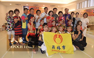 员林汉心舞团 扮文化小天使舞乐传情两岸