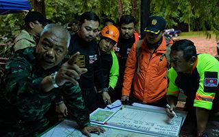 泰国少年足球队探险失踪 美英军方协助救援