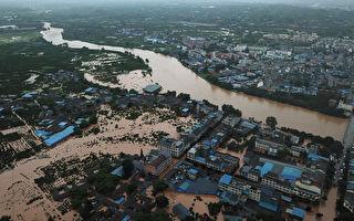 四川遭暴雨洪水襲擊 死傷成謎 災區令人憂