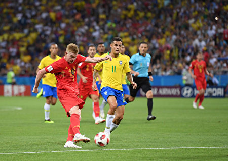 比利时2:1胜巴西 世界杯变欧洲杯