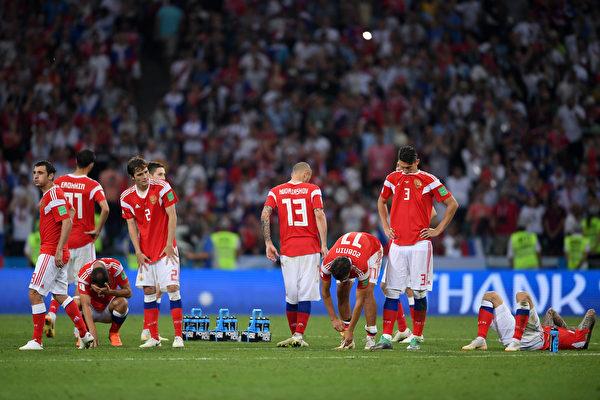 克罗地亚6:5点球大战击败俄罗斯 晋级四强
