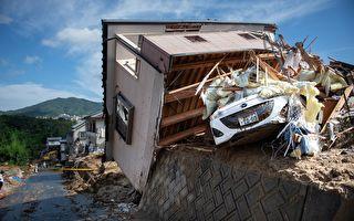 日本洪水致死150人以上 超20万人缺饮水
