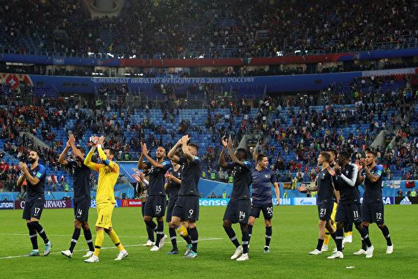 法国1:0胜比利时 时隔12年再度晋级决赛