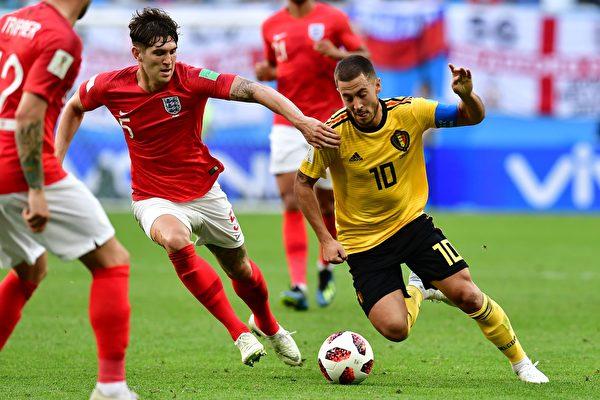 历史性突破 比利时2:0胜英格兰获第三名