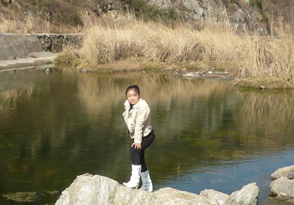 蔣立宇。2010年攝於蔣立宇家鄉。(蔣煉嬌提供)