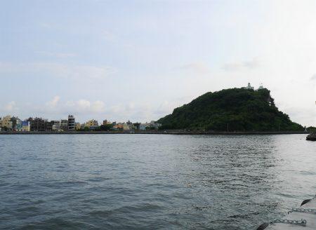 哨船头从禁闭到打开,让英国领事馆重新面海,并得以完整地看见对岸旗后山。