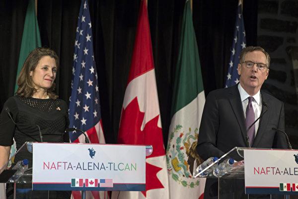周五是截止日期 川普对美加贸易谈判乐观