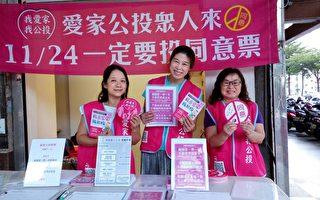 全民公投救台灣 8月底衝35萬份連署