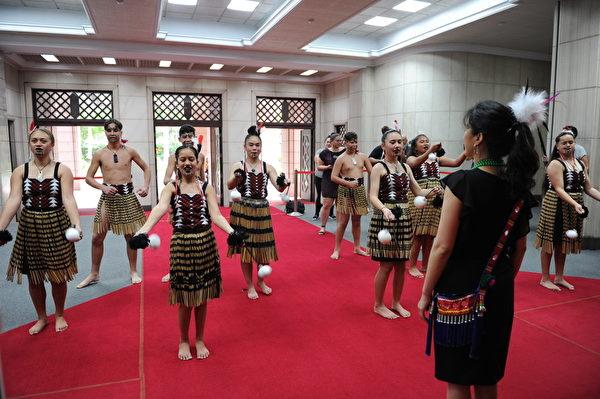 新西兰毛利族部落来台寻根 传统仪式吸睛