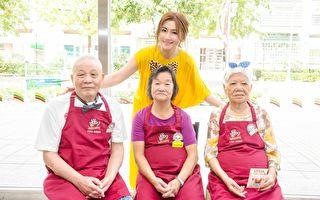當「學姊」做公益 Selina領大齡實習生賣咖啡