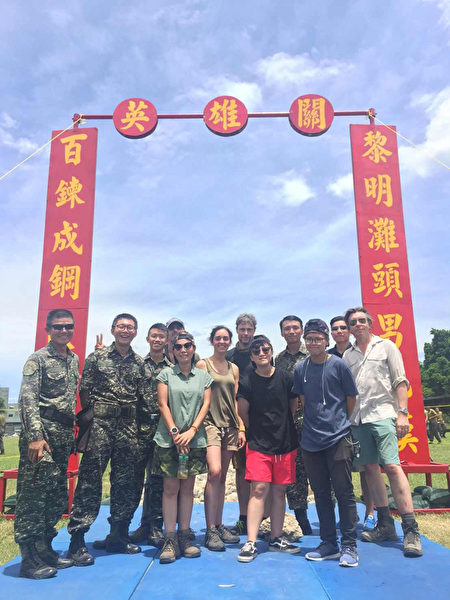 BBC团队跟拍台湾蛙人训练考验 纪录片首播
