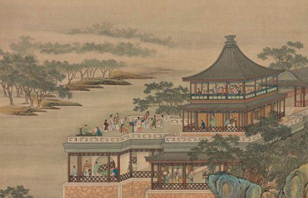 清畫院《十二月月令圖‧八月》局部。(公有領域)
