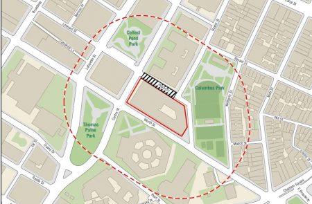 曼哈顿华埠中央街80号将建40层高的监狱,在所有四个监狱中,华埠监狱最靠近人口密集的居民区。