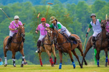 """被称为""""绅士运动""""的经典马球赛7月14日在纽约州帕特森(Patterson)举行。"""
