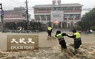 暴雨淹出佛心 彰化3警冒險救人受表揚