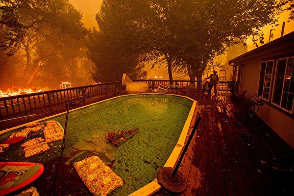 9人丧生加州野火 优胜美地仍关闭