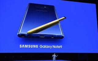 堪称平板手机 三星Galaxy Note 9纽约推出