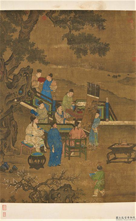 张柔进入史馆,取出典藏的各类书籍以及金朝实录,为日后元朝编修《金史》保存了珍贵史料。图为《宋人博古图》。(公有领域)