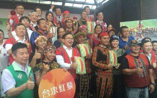 义美与台东农民契作 助青农返乡发展产业