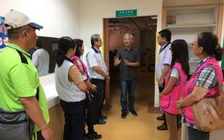 嘉義榮服處參訪東石聖心教養院並捐物資