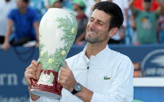 辛辛那提網賽小德奪冠 成就史上第一位金大師