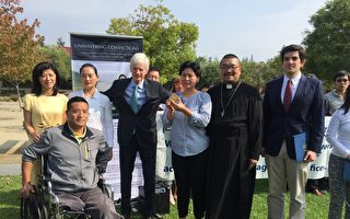 高智晟被失蹤一年 獲頒自由人權獎章