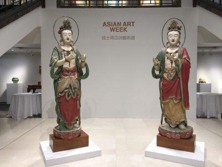 從9月7日到14日洛克斐勒廣場的佳士得藝術走廊展出「亞洲藝術品週」。