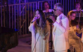 阿妹與意大利男高音世紀對唱 美聲征服全場
