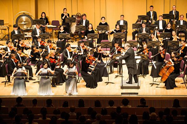 2018年9月14日晚,神韵交响乐团于屏东演艺厅举行演出。(罗瑞勋/大纪元)