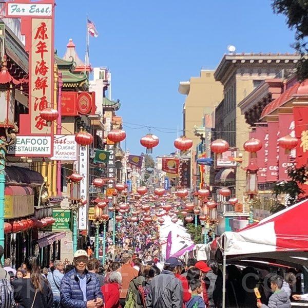 舊金山華埠中秋街會 慶祝傳統節日