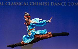 组图:中国古典舞大赛初赛少年男子组风采