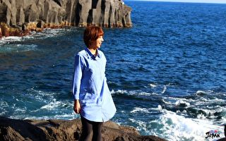特蕾莎日本出外景 体验微断食边做瑜伽