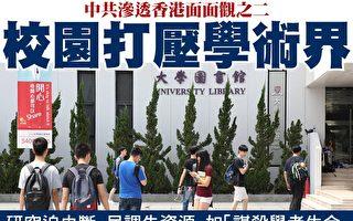 中共滲透香港面面觀 統戰院校打壓學者