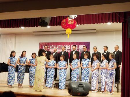 來音合唱團演唱多首動聽歌曲宴饗聽眾。