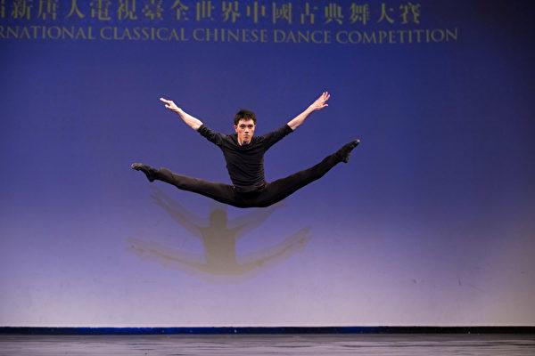 第八屆「全世界中國古典舞大賽」青年組金獎得主巫昆璟。(戴兵/大紀元)