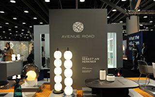 在溫哥華室內設計展IDS上,由Avenue Road展出的時尚作品。(童宇/大紀元)