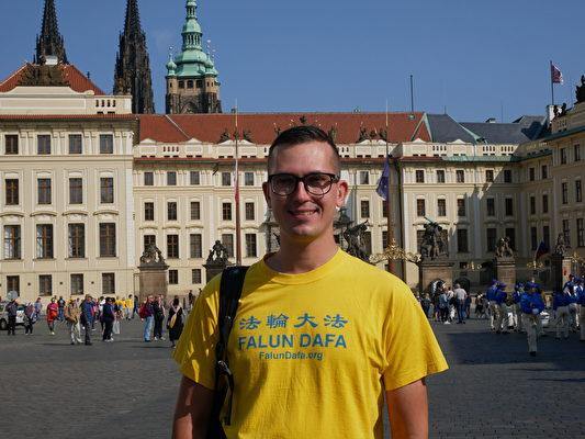 来自波兰的Jakob Sokolowski。(张妮/大纪元)