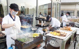 挑战地表最强烤肉趴   夏夜池畔音乐BBQ晚会