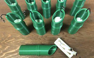 环境教育  竹市环保局推随身烟蒂盒